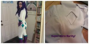 Super Hero Rarity progress by Scruffypants