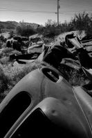 auto graveyard by ToxicRoachPhoto