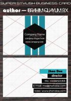Super Stylish Business Card by ibrahimquayum