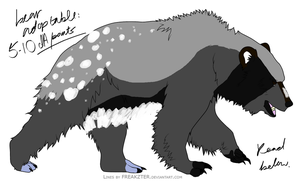 Name Your Price: Bear Adopt by TheAdoptShop