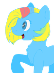 Rainbow-pastel contest entry by StrangeGale