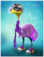 Emu culture by yarry