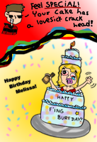 HAPPY B-DAY MELISSA by PachiBoo