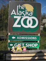 At the Alaskan Zoo by Belanna42