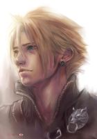 Cloud Strife_color_fan art by SantaFung