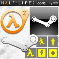 Half-Life 2 Icons by XSV