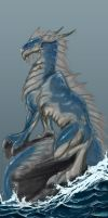 Another Sea Dragon Friend, done  2013 by lwatson74