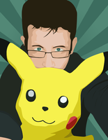 A Man And His Pikachu by Hybrid-Trainer