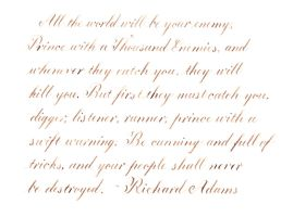 Richard Adams - All the world will be your enemy by MShades
