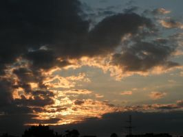 evening clouds by doko-stock