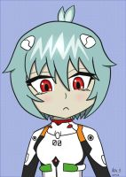 Chibi Rei Ayanami by supereva01
