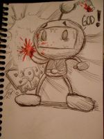 Something wrong is going on in Bomberman by DRPauloR