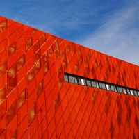 the red wall by augenweide