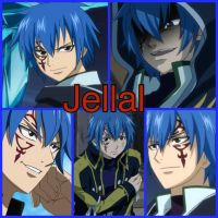 Jellal collage by Kiko-E-Coyona