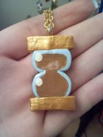 Dr. Whooves Pendant by LadyEsca