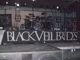 BVB Church Of The Wild Ones Tour - The Stage by tsukiyamas
