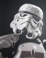 Sandtrooper by Papergizmo