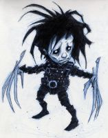Little Edward Scissorhands by Axel13-Gallery