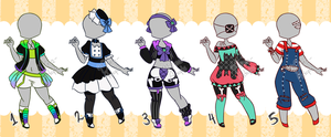 [Closed] Outfit Adopts 05 by Mima-Adopts