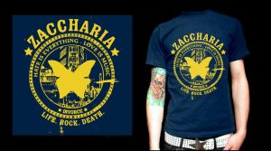 Zaccharia t-shirt circle by Never-effects