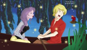 I don't want to kiss the girl by Dodger-ette