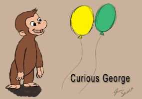 Curious George by blueamcat