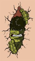 Hulk Tattoo. by stayte-of-the-art