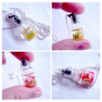 Fruit salad bottles necklace by caithness-shop