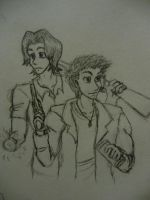 Winchesters on the Job by DaAmazingMeepers