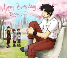 HAPPY BIRTHDAY REN by IDreamOfBlueSkies