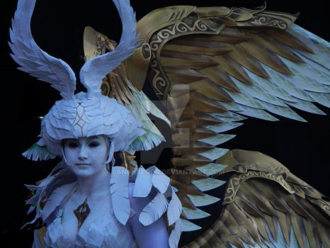 Garuda Cosplay by SandnBlood