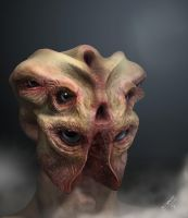 Creature n.7 - Composite Render. by 3dmetrius