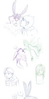 ROTG sketchdump 3 by Violac