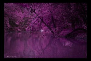 Around the Bend Purple by dark4Maxine