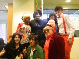 Homestuck group LAMECon 2013 by Strider-rumps
