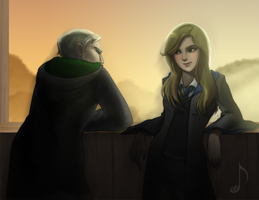 Commission: Draco and Bridget by ShootingStar03