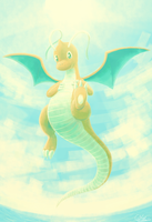 Dragonite by Millaii