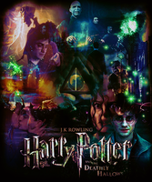 Harry Potter and Deathly Hallows by toshpond