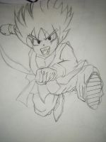 Kid Goku by Kami-Jazzu