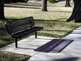 An Empty Bench by KelHemp
