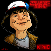 Dustin by dwaynebiddixart