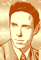 Young Alan Watts by peileppe