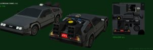 Delorean 06 by JohnnySix