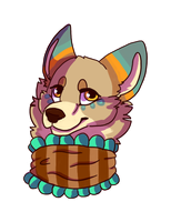 Wolf Tiki by makashy