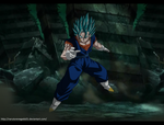 Dragon Ball Super: Vegetto enters in the battle by NarutoRenegado01