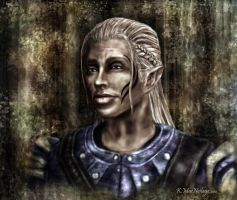 Zevran - Dragon Age:Origins by wanderer1812