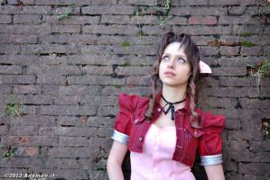 Aerith Gainsborough by RainStillnight
