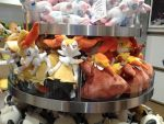 NW NOVEMBER 2014 STANDARD FOX POKEMON PLUSHIES by HinataFox790