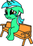 Armless Lyra by Blackrhinoranger