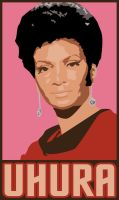 OBEY UHURA by WhatsYourBOZO